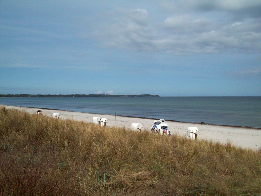 Längster Strand auf Rügen - Die Schaabe mit Blick Kap Arkona